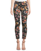Jen7 by 7 for All Mankind Rainbow Blooms