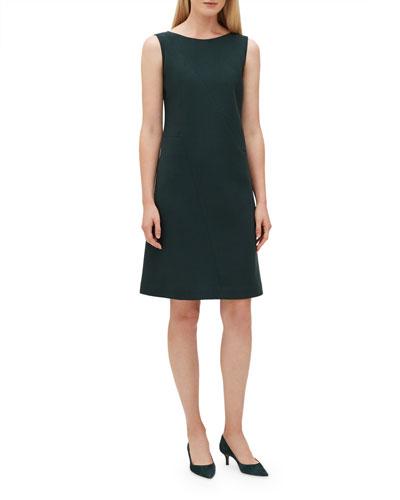 a50695f5f4d7 Wool Shift Dress
