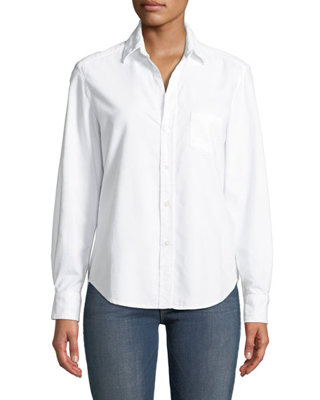 Frank & Eileen Long-Sleeve Button-Down Poplin Shirt