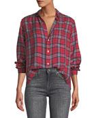 Frank & Eileen Tartan Check Button-Down Cotton Shirt