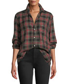 Frank & Eileen Tartan Check Long-Sleeve Button-Down Shirt