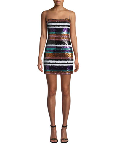 d21b4461fb5 Quick Look. Likely · Braelyn Sequined Short Cocktail Dress