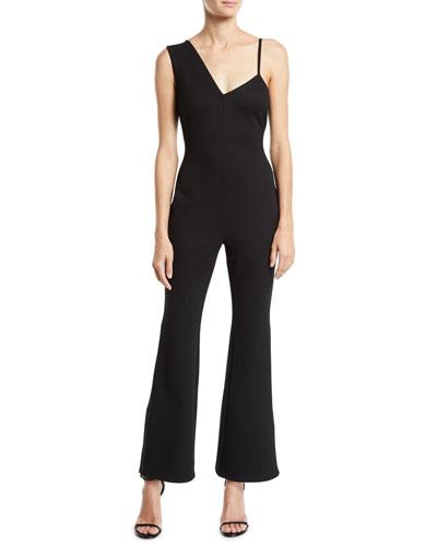 7bb5cc8f Back Zip Jumpsuit | Neiman Marcus