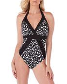 Magicsuit Bailey Bermuda Triangle One-Piece Swimsuit