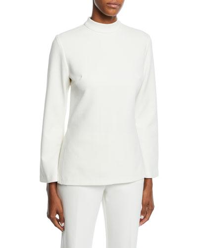 Hostess Long-Sleeve Tunic Top