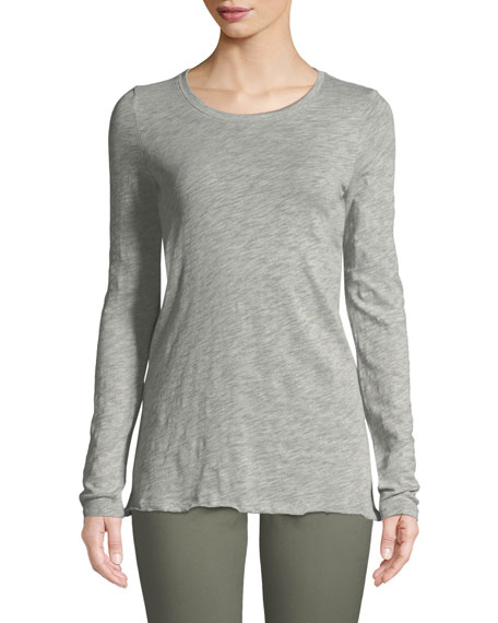 ATM Anthony Thomas Melillo Long-Sleeve Destroyed Wash Tee