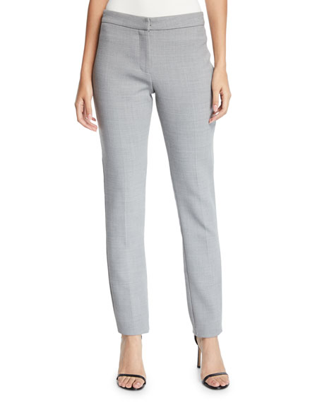 Badgley Mischka Collection Straight-Leg Suiting Pants