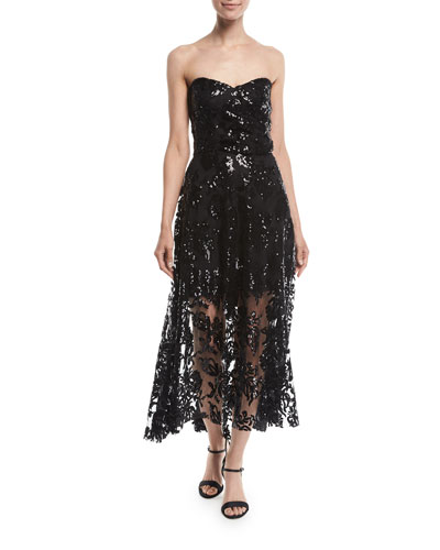 36fc2b96da2 Quick Look. Milly · Tori Lace Sequin Embroidered Dress