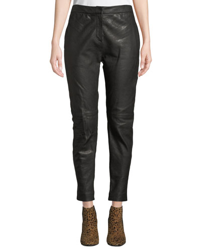 abd2ade407d6 Quick Look. Rag & Bone · Sarah Mid-Rise Leather Pants. Available in Black