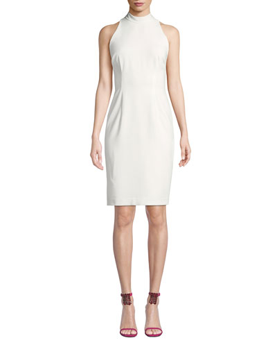 Micah Tie-Back Sheath Dress