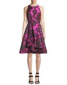 Shoshanna Lynbrook Floral Fit-&-Flare Dress