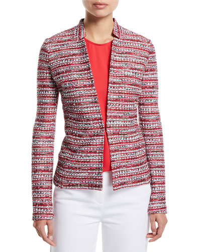 Amelia Tweed Knit Jacket