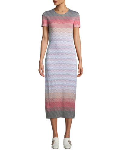 286053b50e7 Quick Look. St. John Collection · Brisa Multicolor Striped Dress