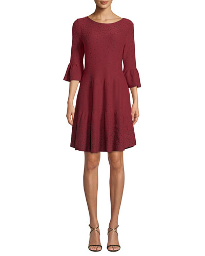 Celestial Stud A-line Dress