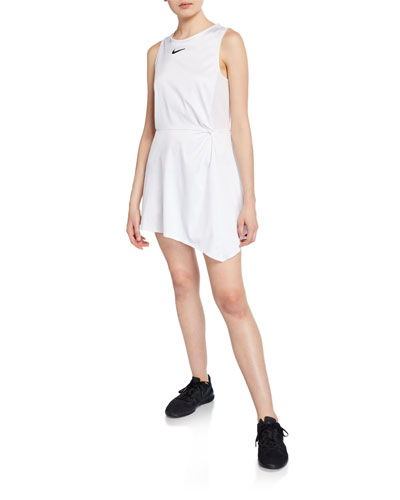 x Maria Sharapova NikeCourt Sleeveless Cutout Tennis Dress