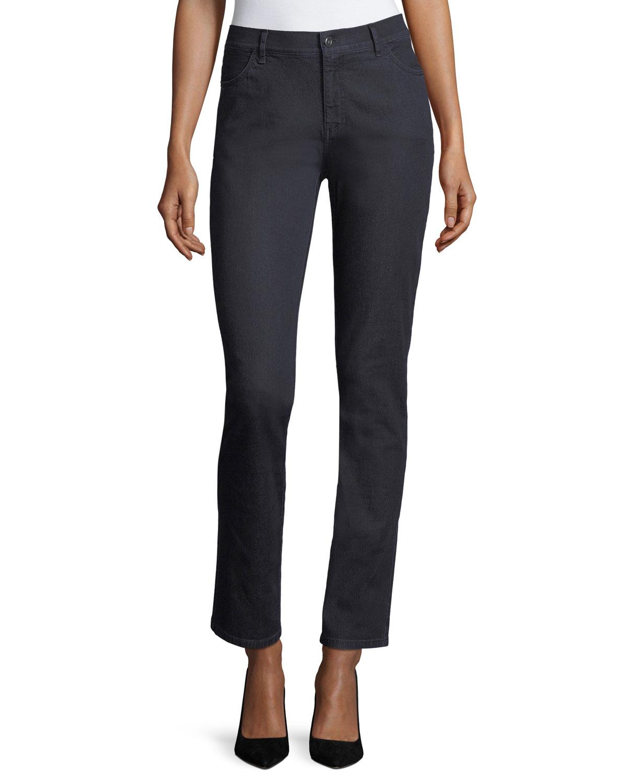 Thompson Colored Slim-Leg Jeans in Indigo