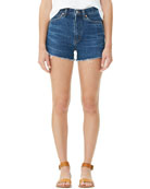 Citizens of Humanity Kristen High-Rise Frayed Denim Shorts