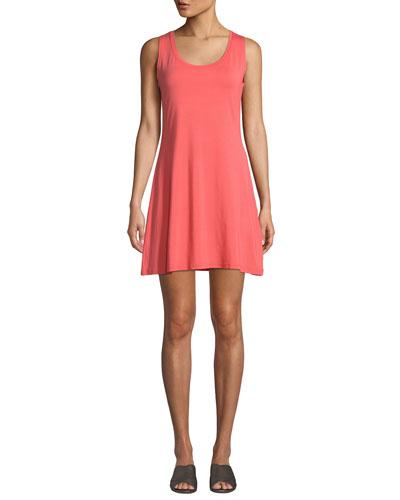 Heat Scoop-Neck Sleeveless Jersey Dress
