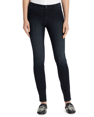 Plus Size Mercer Stretch-Denim Slim-Leg Jeans