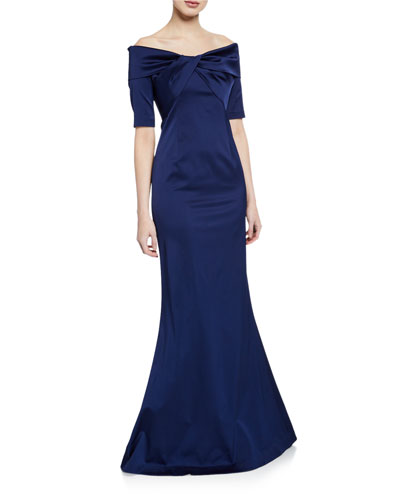 b209a8c994 Navy Gown | Neiman Marcus