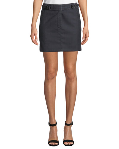 3e8a008b28f4 Straight Wool Skirt | Neiman Marcus