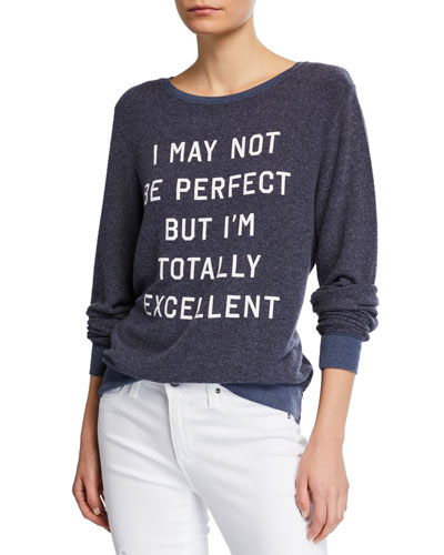 Long-Sleeve T-Shirt with Contrast Details