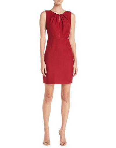 6c70e07fa3 Red Velvet Dress