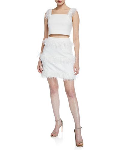027b17cd506 Quick Look. Elliatt · Coco Two-Piece Crop Top   Skirt Set ...