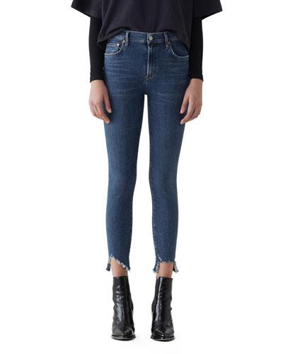 Sophie Step-Hem Skinny Jeans