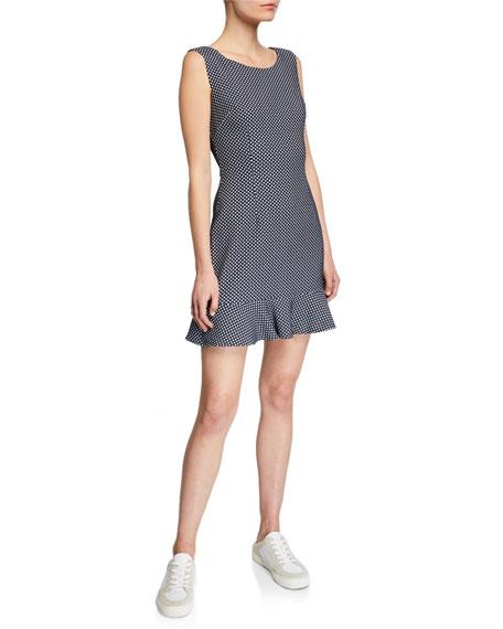 Bailey 44 Below Deck Sleeveless Woven Dot Dress