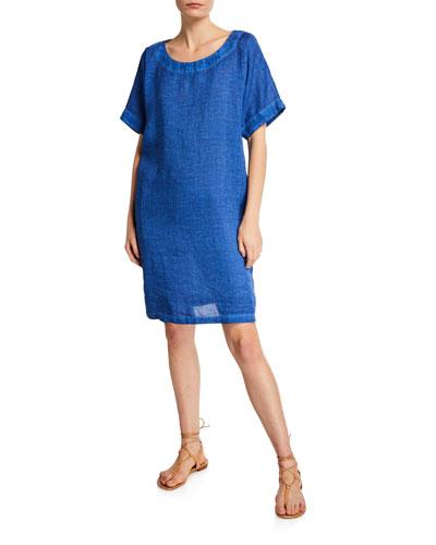 183ba9dfe3e9f Womens Linen Dress