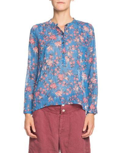 0cb83e2b98e86 Quick Look. Etoile Isabel Marant · Maria Floral Long-Sleeve ...