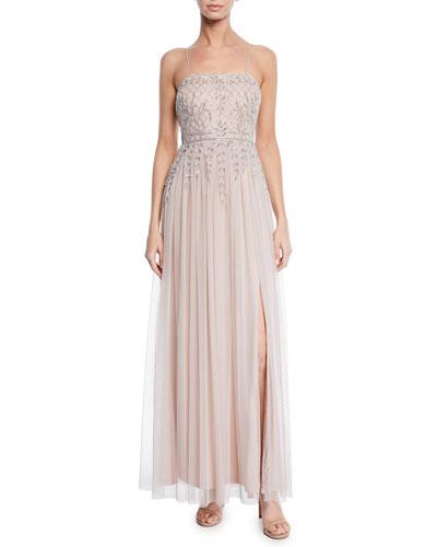Blush Gown Neiman Marcus