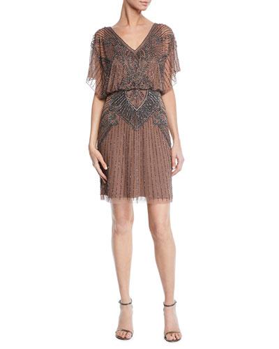 2cb209d8 Beaded Dress | Neiman Marcus