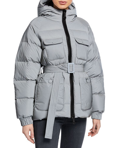 Berlin Reflective Puffer Coat