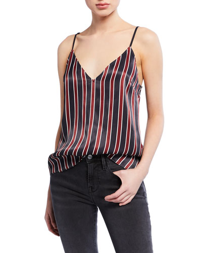 Classic Striped V-Neck Cami
