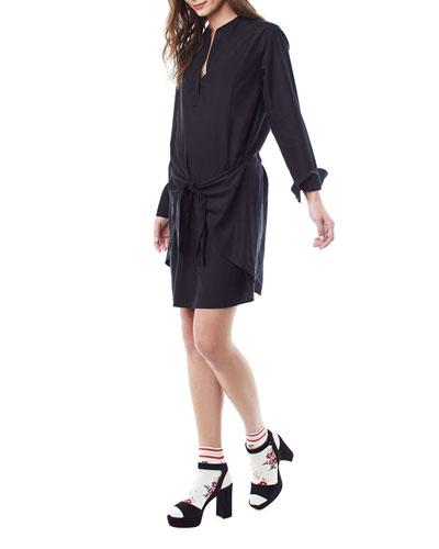 Nursing Lucy Tie-Front Dress