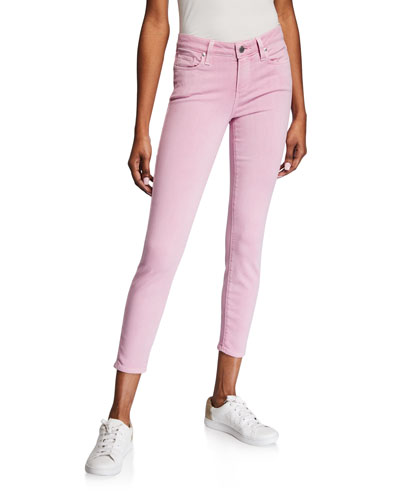 Verdugo Mid-Rise Ankle Skinny Jeans