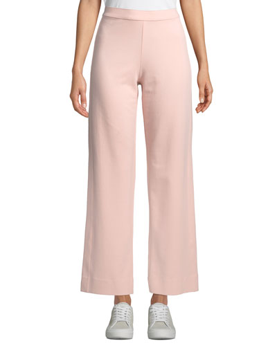 578c2a9958a Quick Look. Joan Vass · Ankle-Length Stretch Cotton Jog Pants