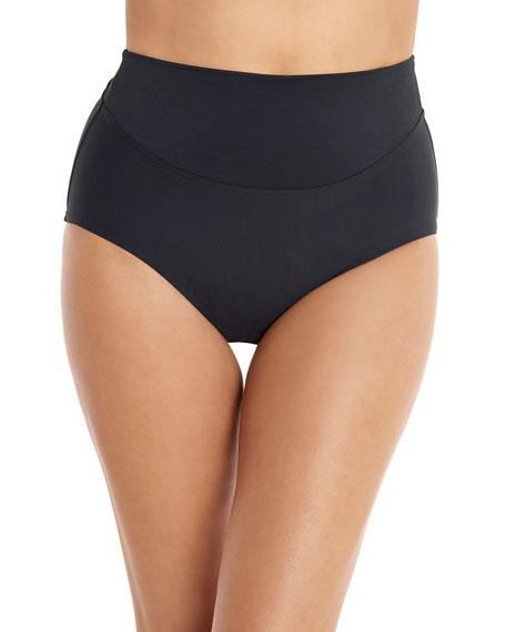 Amoressa by Miraclesuit Martini High-Waist Bikini Bottoms