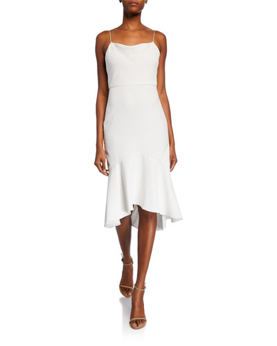 39467b6727 Spaghetti Straps Fitted Dress   Neiman Marcus