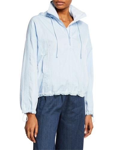 abbb86907edb Quick Look. Vince · Hooded Half-Zip Wind Jacket