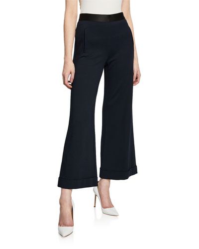 Grand-Pere Flared Ponte Pants