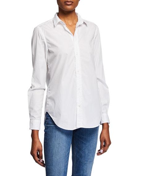 Frank & Eileen Frank Long-Sleeve Cotton Button-Front Top