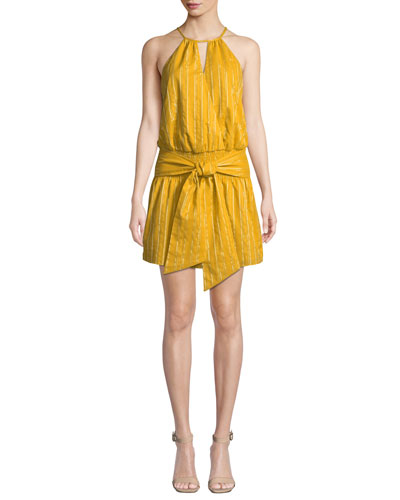 cb1a20109d Halter Neckline Dress