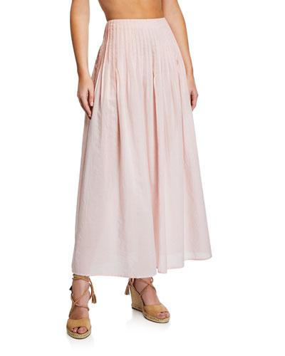 Yuma High-Waist Maxi Skirt