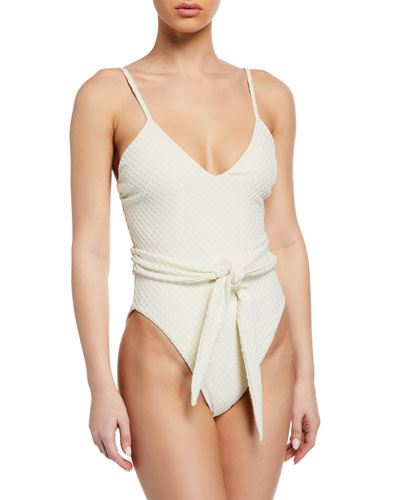 6095baf068 High Cut One Piece Swimwear