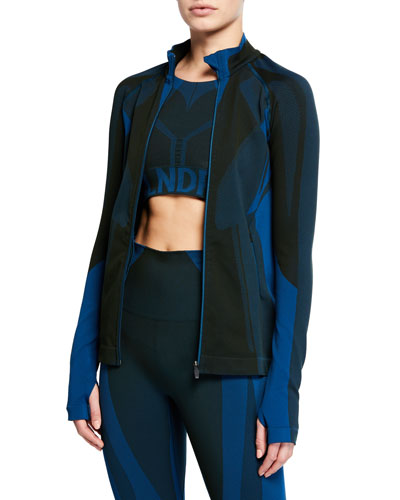 All Seasons Seamless Zip-Front Jacket
