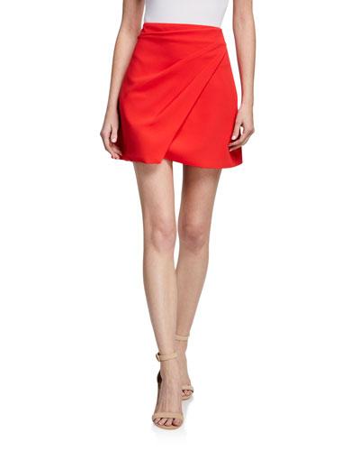 Shaylee Asymmetric Mini Skirt