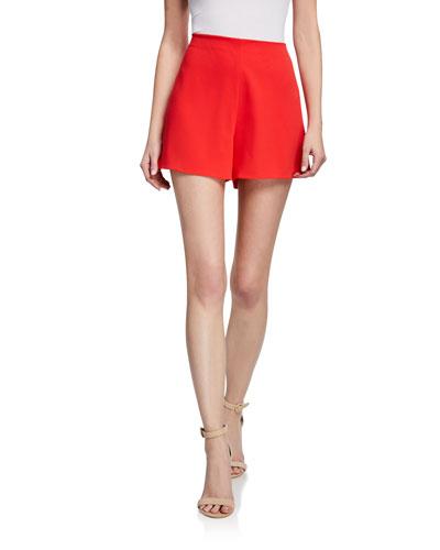 Athena Clean Waist Wide-Leg Shorts